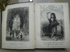 Payne's miniature-ALMANACH POUR 1858 – 12 Acier gravures