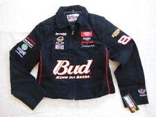 CHASE DESIGN DALE EARNHARDT JR WINSTON CUP BUD WOMENS JACKET NASCAR BLACK 2X NWT