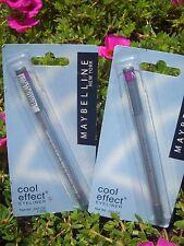 2 MAYBELLINE COOL EFFECT WATER BASED EYELINER, #05 CHILLED STEEL