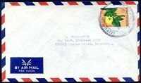 HAITI TO ARGENTINA Air Mail Cover Circa 1970, VERY RARE DESTINATION! VF