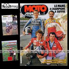 MOTO JOURNAL N°574 ★ HONDA XLR 400 & 600 ★ KTM 125 PL ★ YAMAHA XT 400 S 1982