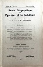 Re.GEOGRAPHIQUE PYRENEES & SUD-OUEST1933-Tome IV F1:AUDE/MINOTERIE TOULOUSE/ALBI