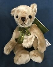 """Harrods Knightsbridge Little Teddy Bear Beige 8"""" Plush Nwt New"""