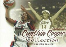 2000 WNBA FLEER DOMINION * CYNTHIA COOPER COLLECTION * CARD # 1 A NEW LEAGUE