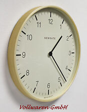 NEWGATE Wanduhr MR CLARKE BIG 60th BRITISH DESIGN Uhr Arabic Dail Clock