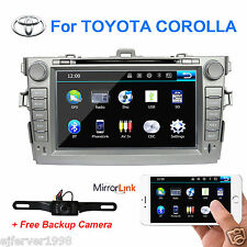 Car Stereo for Toyota Corolla 2007-2011 Auto radio DVD GPS Multimedia Navigation