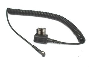Metz Coiled Sync Cord for Metz 45CT3, 45CT4, 45CL3, 45CL4 Flash Guns