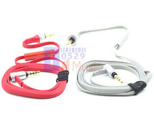 Original Audio cable for sony mdr-x10 headphone with Mic control remote red gray