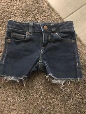 Girls Jean Shorts Size 5 By Wonderkids