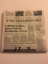 The Sacramento Bee 30 April 2018 Migrant Caravan, DNA