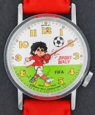 Vintage Sport Billy FIFA Football Soccer Animated Bradley Character Watch