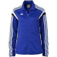 Adidas Women's Condivo 14 Training Jacket Ladies Track Top F76943 - Royal Blue