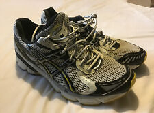 Asics Gel 1150 running shoes size 11.5 UK Euro 46.5 12 US Yellow/Silver