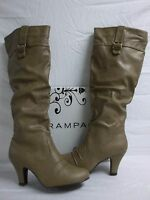 Rampage Size 9.5 M Estafania Camel Knee High Boots New Womens Shoes