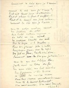 """Bernède Arthur Brief Autograph Mai 1897 """"Comment te dire que je t'aime"""""""