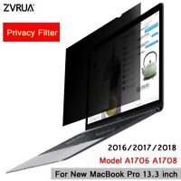 Privacy Filter Screen For 2016/2017/2018 Mac Book Pro model A1706 A1708 13.3Inch