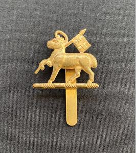 Queen's West Surrey Regiment Cap Badge