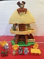 Vintage Star Wars Kenner Preschool Wicket The Ewok Family Hut 1984 Not Complete