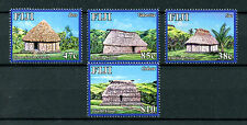 Fiji 2016 MNH Navala Village of Ba 4v Set Cultures Huts Buildings Stamps