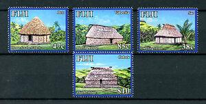 Fiji 2016 MNH Navala Village of Ba 4v Set Cultures Huts Buildings Stamps