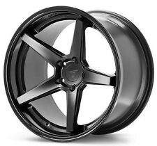 "20"" Ferrada FR3 Matte Black 20x9 Concave Wheels for Lexus ES300h ES350 2007-2014"