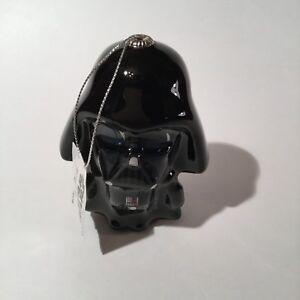Hallmark Disney Decoupage Star Wars Darth Vader Christmas Ornament NWT