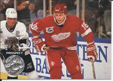 Vladimir Konstantinov 1991-92 Pro Set Platinum Rookie Card # 254 & Wayne Gretzky