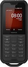 """NUOVO Nokia 800 Duro Nero 2.4"""" 4GB LTE 4G kaios Senza Sim Sbloccato UK"""