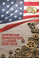 ✔ Album for coins of the series American Innovators USA 1 dollar 2018 - 2032