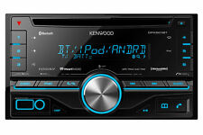 Kenwood In Dash Double Din CD Receiver with Built in Bluetooth DPX501BT