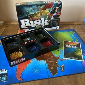RISK  BOARD GAME HASBRO 2010  ~ CLASSIC / ORIGINAL Opened Never Played