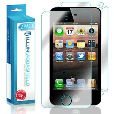 2x iLLumi AquaShield Front Screen + Back Protector for Apple iPod Touch 4th Gen