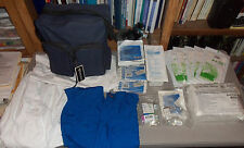 Pocket Nurse Healthcare Medical School Training Kit Demo Supplies Catheter Vials