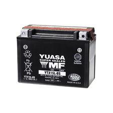 BATTERIA YUASA YTX15L-BS 99/01 BOMBARDIER ZX TYPES 0 06.5139 12V/13AH