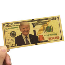 Paper Money Non-currency Plastic Banknotes Gold Plated Currency Collectibles
