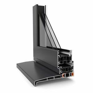 Warmcore Aluminum  Windows 1000 x 1000 fixed frame £265