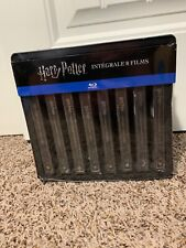 Harry Potter Blu-ray 8 Film Steelbook Set. (French Import) *Dented Metal Shelf*