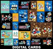 Topps Disney Collect FAB 5 COLLECTION [28 CARD STANDARD/TILT/MOTION SETS]
