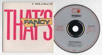 Fancy Promo-CD THAT'S FANCY 1988 Metronome 4-tr West Germany 887 828-2 near mint