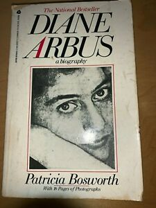Diane Arbus - A Biography by Patricia Bosworth (paperback 1984). FREE POST