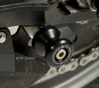 2017 R/&G RACING M8 BLACK PADDOCK STAND BOBBINS Suzuki DL650 V-Strom