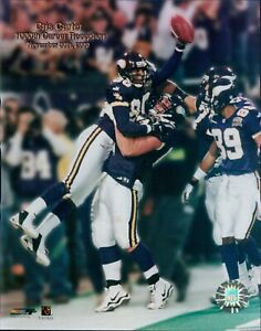 Cris Carter Minnesota Vikings NFL Licensed Unsigned Glossy 8x10 Photo A