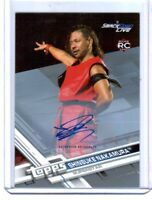 WWE Shinsuke Nakamura 2017 Topps Then Now Forever Silver Autograph Card SN 6/25