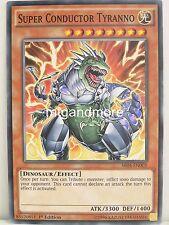 Yu-Gi-Oh 2x #005 Super Conductor Tyranno - SR04 - Dinosmasher's Fury Structure D
