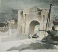 """WW 2 Orel Russland  1942/43 """"Stadttor Gluchow""""  Kriegsberichter H. Schneider"""