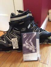 MEN'S K2 CAMANO-M CARBON BLACK GRAY INLINE SKATES, Roller blades, Size 11 11.0