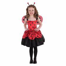 Totally Ghoul Girl's Ladybug Halloween Costume Child Small No Headband #5353
