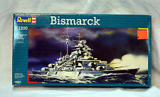 REVELL-Model-kit-BISMARK-1-1200-05802-New  (ref#52)
