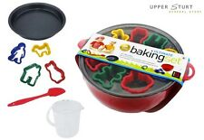 The Ultimate Baking Set for Kids Includes Bowl Tray Cutters Spatula and More