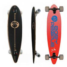 Easy People Longboards PT-0 Pintail Drop Through Longboard Complete Deck  Push